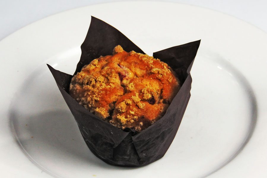 Muffin — Raspberry Crumble (Gluten-free) - The BreadManThe ...