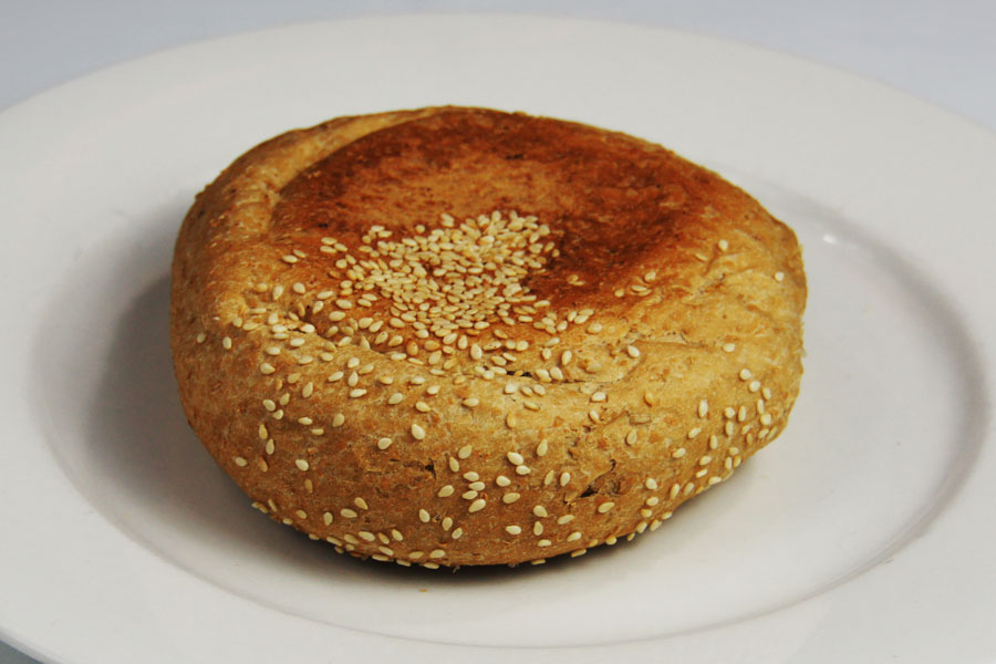 Flat-roll-wholemeal