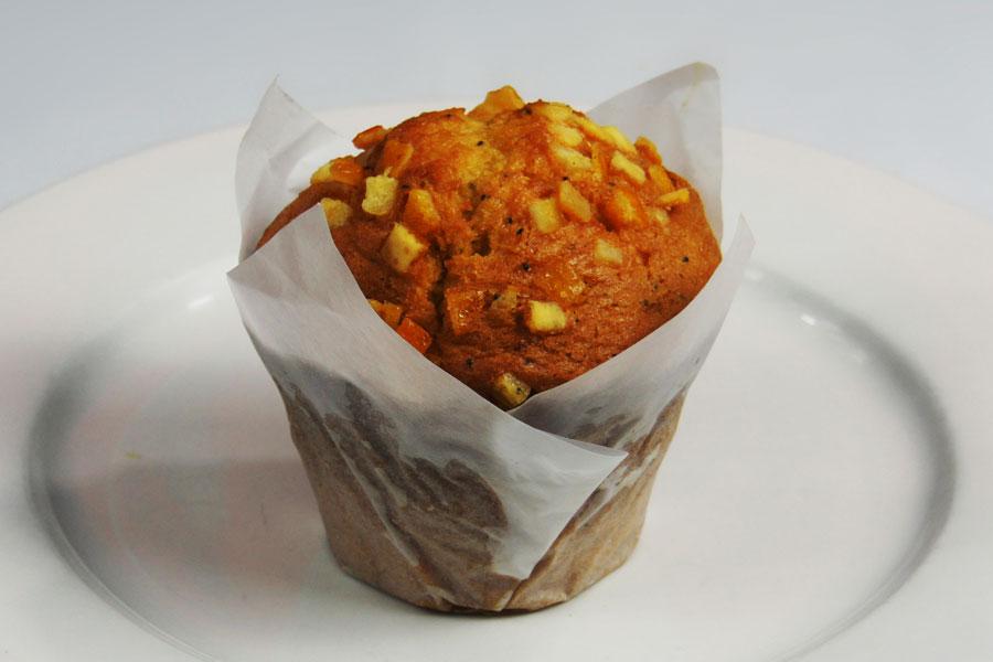 Muffin-orange-poppy-paper
